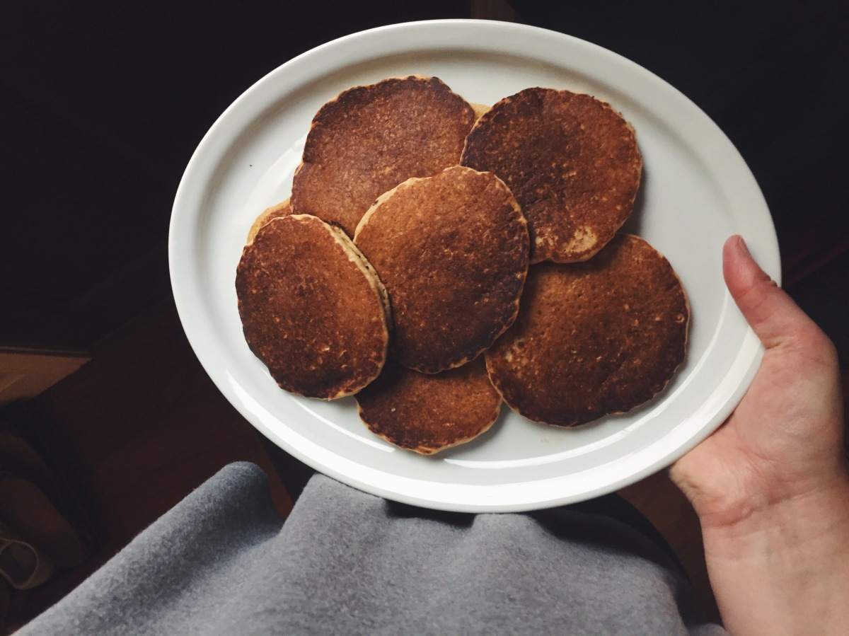 Oatmeal Pancakes: A Love Song